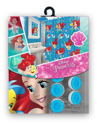 The Little Mermaid Fabric Shower Curtain Set