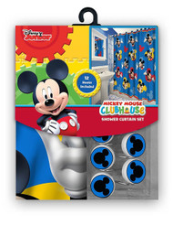 Mickey Mouse Clubhouse Fabric Shower Curtain Set