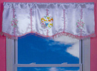 Disney Princess Trio Portraits Valance