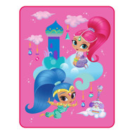 Shimmer and Shine Throw Blanket