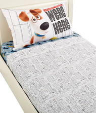 Secret Life of Pets 'Wish You Were Here' Twin Sheet Set