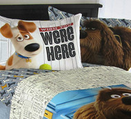 Secret Life of Pets 'Wish You Were Here' Pillowcase
