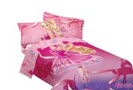 Mattel Barbie Ballet Microfiber Comforter, Twin