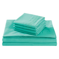 Fifth Avenue Home 'Turquoise' Cal. King Size Bed Sheet Set