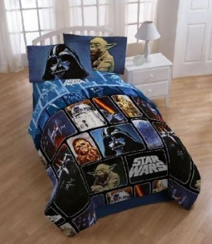 Star Wars Collage Full Size Comforter Set
