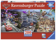 Disney Cars: Cars 2 Panorama Puzzle