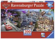 Disney Cars: Cars 2 Panorama Puzzle