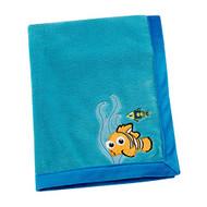 Disney Finding Nemo Coral Fleece Blanket, Blue