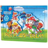 Paw Patrol Wooden 18 Piece Puzzle
