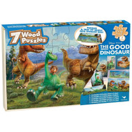 The Good Dinosaur Wood Puzzle 7 Pack