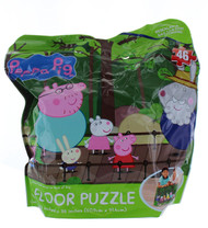 Peppa Pig 46-Piece Floor Puzzle in Resealable Bag