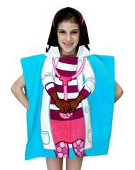 Doc McStuffins Hooded Bath/Beach Poncho Towel