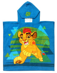 Lion Guard Cotton Hooded Poncho Towel
