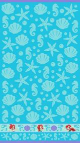 Disney Little Mermaid Ariel Cotton Towel