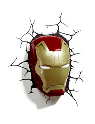 Marvel Iron Man Mask 3D Deco LED Wall Light