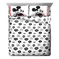 Disney Mickey Mouse Jersey Full Sheet SetDisney Mickey Mouse Jersey Full Sheet Set