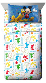Disney Junior Mickey Mouse Twin Sheet Set
