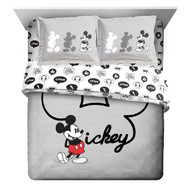 Disney Mickey Full Comforter and Sham Set