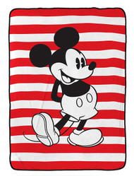 Disney Mickey Mouse Jersey Twin Blanket