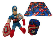 Marvel Avengers Captain America Blanket