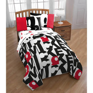 Mickey Mouse Classic Twin Comforter and Sheet Set