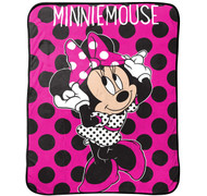 Disney Minnie Mouse Dots Are The New Black Throw