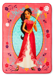 Elena of Avalor 'Powerful Leader' Plush Throw