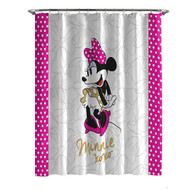 Disney Minnie Mouse XOXO Shower Curtain