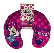 "Disney Minnie Mouse ""Polka Dot Wink"" Travel Neck Pillow"