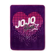 Nickelodeon Jojo Siwa Purple Super Soft Plush Throw