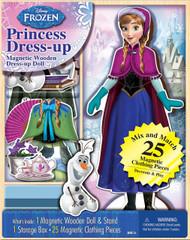 Disney Frozen Anna Magnetic Doll Dress-Up Kit