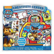 Paw Patrol Creativity Activity Center Storybook