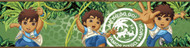 Go Diego Go! Peel & Stick Border