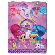 Shimmer & Shine Sky Genies Throw Standard