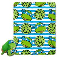 Teenage Mutant Ninja Turtles Zip Pillow and Throw Set