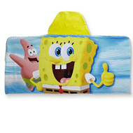 SpongeBob SquarePants Kid's Hooded Towel Wrap
