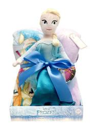 Disney Frozen Elsa Blanket and Plush Set