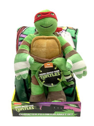 Teenage Mutant Ninja Turtles Blanket and Plush Set