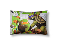 Teenage Mutant Ninja Turtles Green & Gray Pillowcases