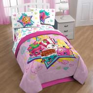 Shopkins Full Comforter and Sheet Set