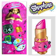Shopkins Hooded Slumber Sleeping Bag