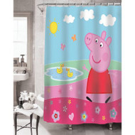 Peppa Pig Peppa's Pond Shower Curtain