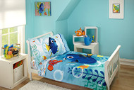 Finding Dory 4 Piece Toddler Bedding Set