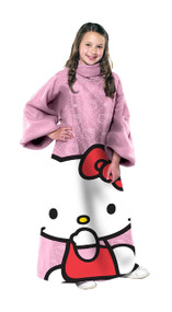 Hello Kitty Youth Comfy Throw, Pink