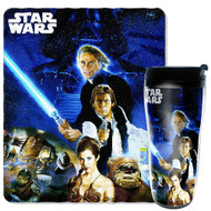 Star Wars Throw Blanket and Mug Set