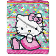 Hello Kitty Silky Soft Throw