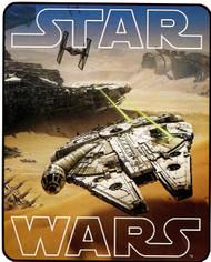Star Wars: Royal Plush Raschel Throw