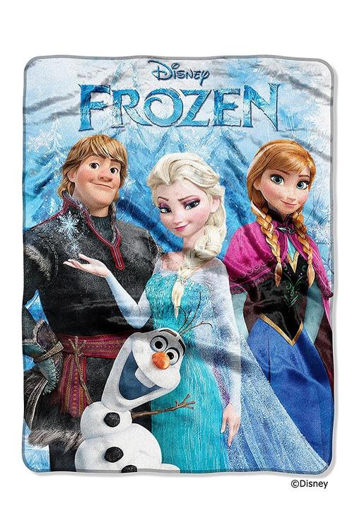 Disney's Frozen Plush Raschel Throw Blanket
