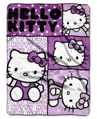 Hello Kitty Plush Twin Blanket Throw