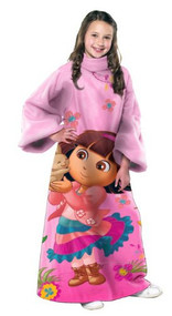Dora the Explorer Polyester Throw